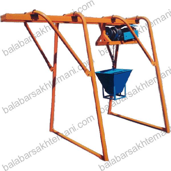 balabars - آموزش نحوه بستن پایه های بالابر