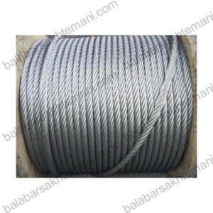 galvanized wire rope 7la 300x300 - بالابرساختمانی